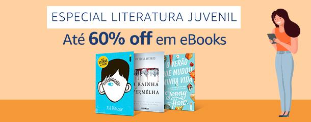 Especial Literatura Juvenil: eBooks até 60% off