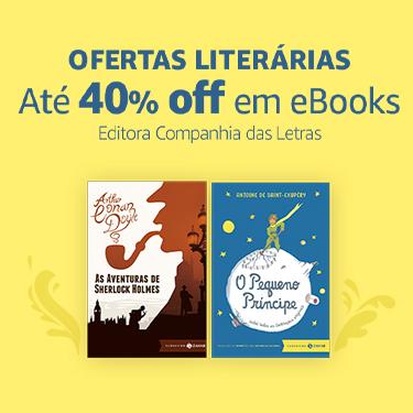 Até 40% off em eBooks da editora Companhia das Letras | Ofertas Literárias