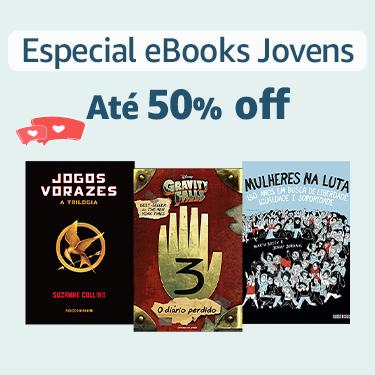 Especial eBooks Jovens: até 50% off