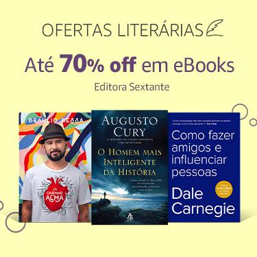 Até 70% off em eBooks da editora Sextante