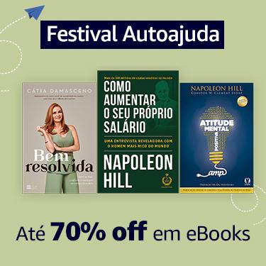 Festival Autoajuda: até 70% off em eBooks