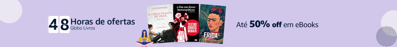 50% off em eBooks da editora Globo