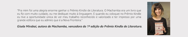 Gisele Mirabai - Vencedor da 1ª edição do Prêmio Kindle de Literatura