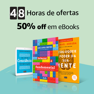 48h Horas de ofertas: 50% off em eBooks