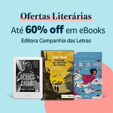 Ofertas Literárias - Até 60% off em eBooks