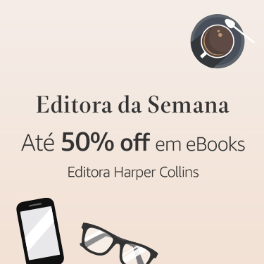 Editora da Semana: Até 50% off em eBooks da Editora HarperCollins