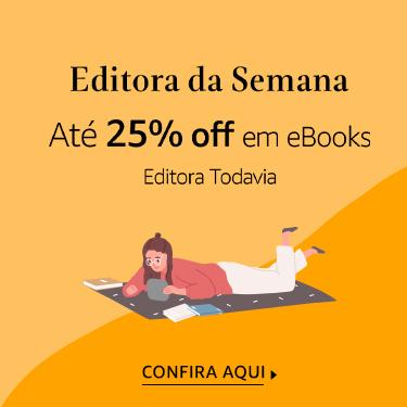 Até 25% off em eBooks da Todavia