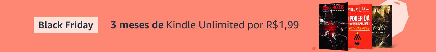 3 meses de Kindle Unlimited por R$1,99