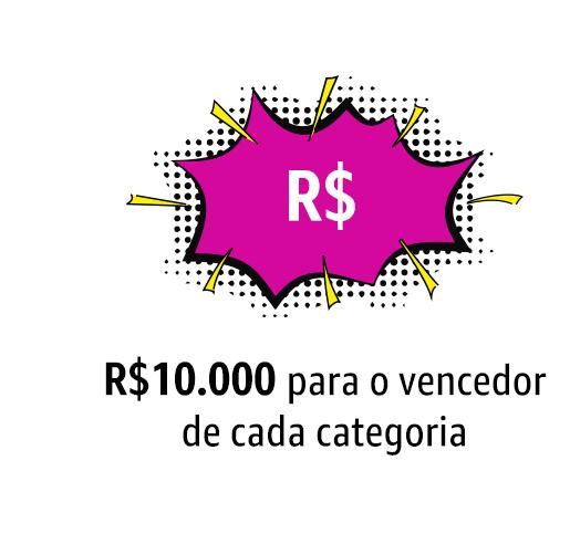 Prêmio de R$ 10.000,00