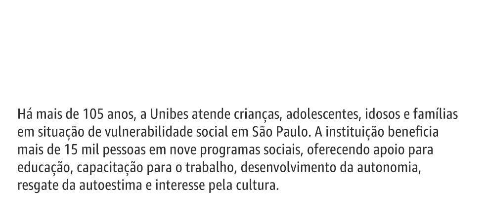 Há mais de 105 anos atendendo familias em situalçai de vulnerabilidade social em São Paulo.