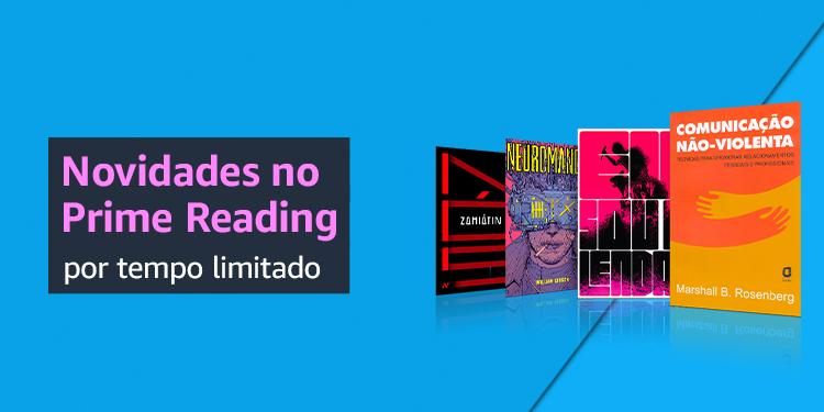 Títulos populares no Prime Reading por tempo limitado