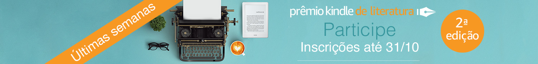 Participe: Prêmio Kindle de Literatura. Inscrições até 31/10