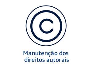 Manutenção dos direitos autorais