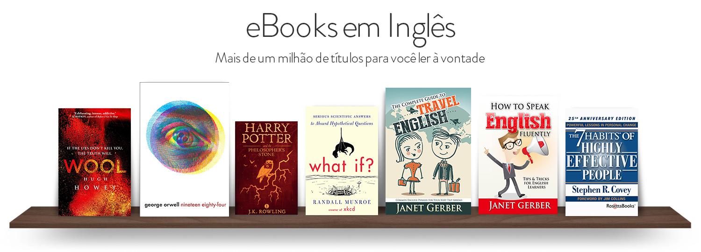 eBooks em Inglês: Mais de um milhão de eBooks para você ler à vontade