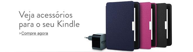 Acessórios para o seu Kindle