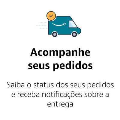 Acompanha seus pedidos - Saiba o status dos seus pedidos e receba notificações sobre a entrega