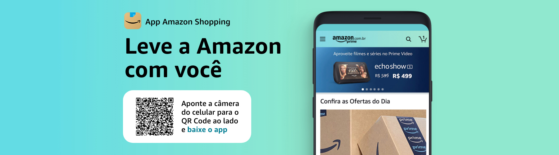 App Amazon Shopping - Leve a Amazon com você