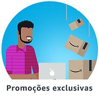 Promoções exclusivas