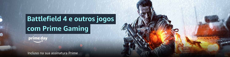 Battlefield 4 gratuito com Prime Gaming