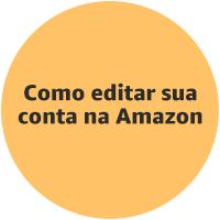 Como editar sua conta na Amazon