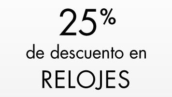 25% de descuento