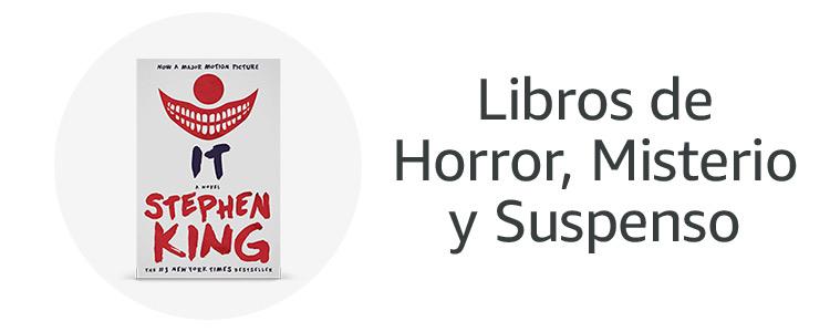 Libros de Horror, Misterio y Suspenso