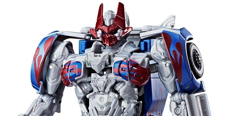 Transformers Figura Quick Step - Optimus Prime