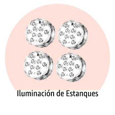 Iluminación de Alberca