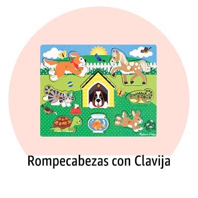 Rompecabezas con Clavija