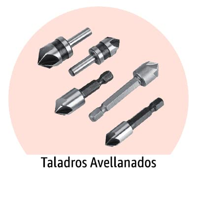 Taladro Avellanado