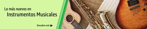 Los más nuevos en instrumentos musicales