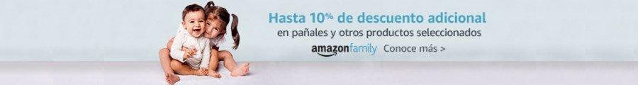 Conoce Amazon Family: 10% de descuento adicional
