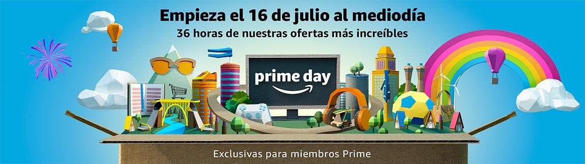 Prime day empieza el 16 de julio a las 12:00 pm