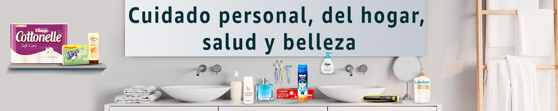 Cuidado personal, del hogar, salud y belleza
