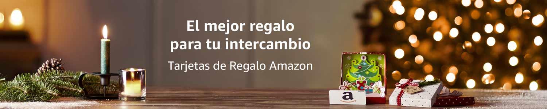 Tarjetas de Regalo Amazon para Intercambios