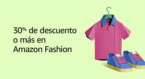 30% de descuento o más en Amazon Fashion