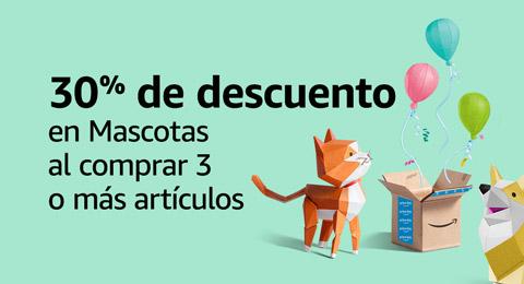 30% de descuento o más en Artículos para Mascotas