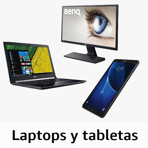 Laptops y tablets