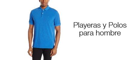 Playeras y Polos para hombre