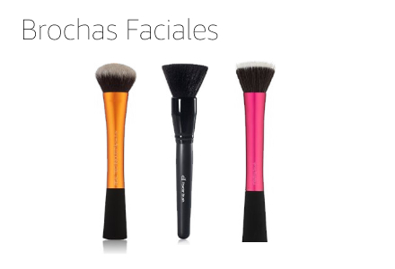brochas faciales