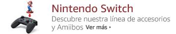 Nintendo Switch. Accesorios y Amiibos