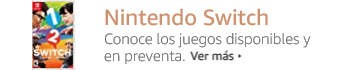 Nintendo Switch. Juegos disponibles y en preventa.