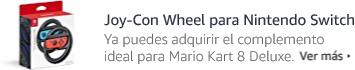 Joy-Con Wheel para Nintendo Switch. El complemento ideal para Mario Kart