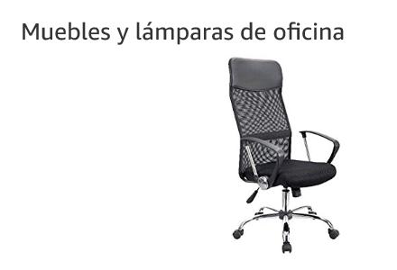 Mueblres y lámaparas de Oficina