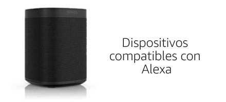 Dispositivos compatibles con Alexa