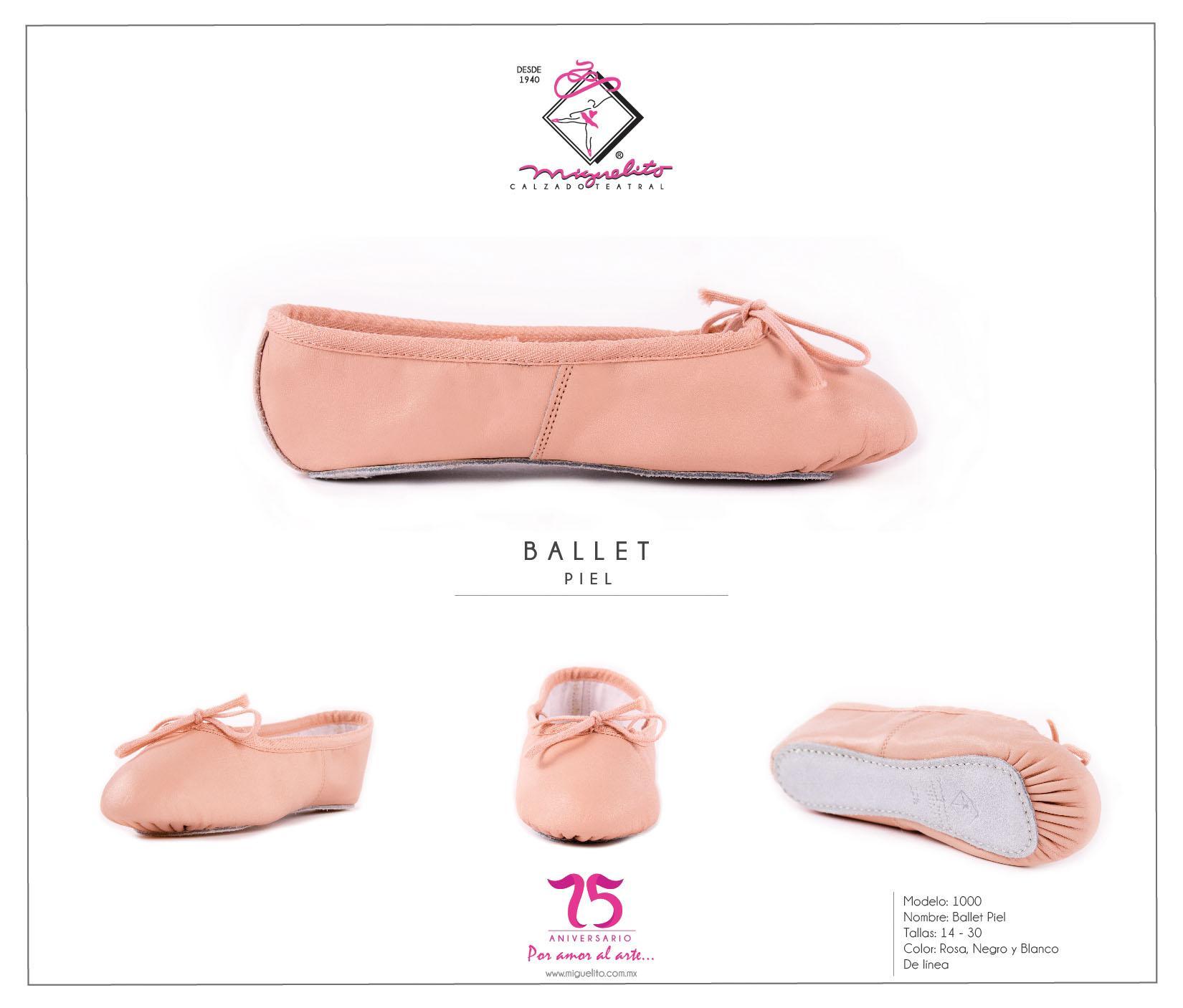 estilo actualizado precio competitivo estilos clásicos Miguelito Ballet Zapatos en Piel para Bebé-niñas, Color Rosa ...