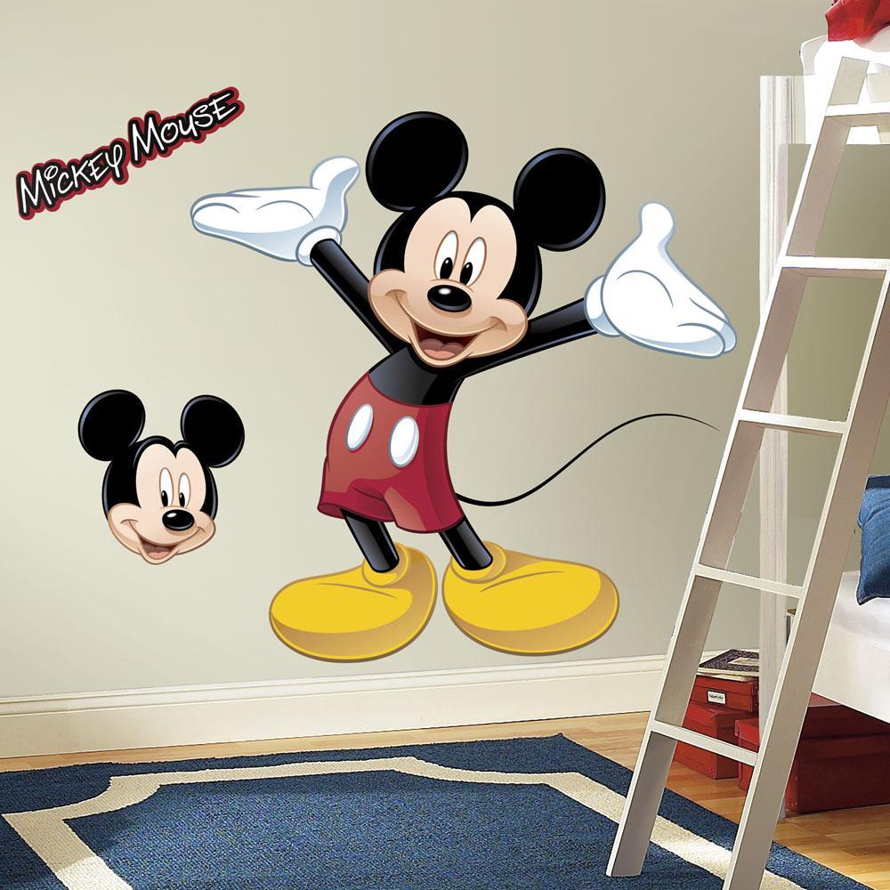 RoomMates rmk1508gm Mickey Mouse despegar y pegar Giant Wall Decal ...