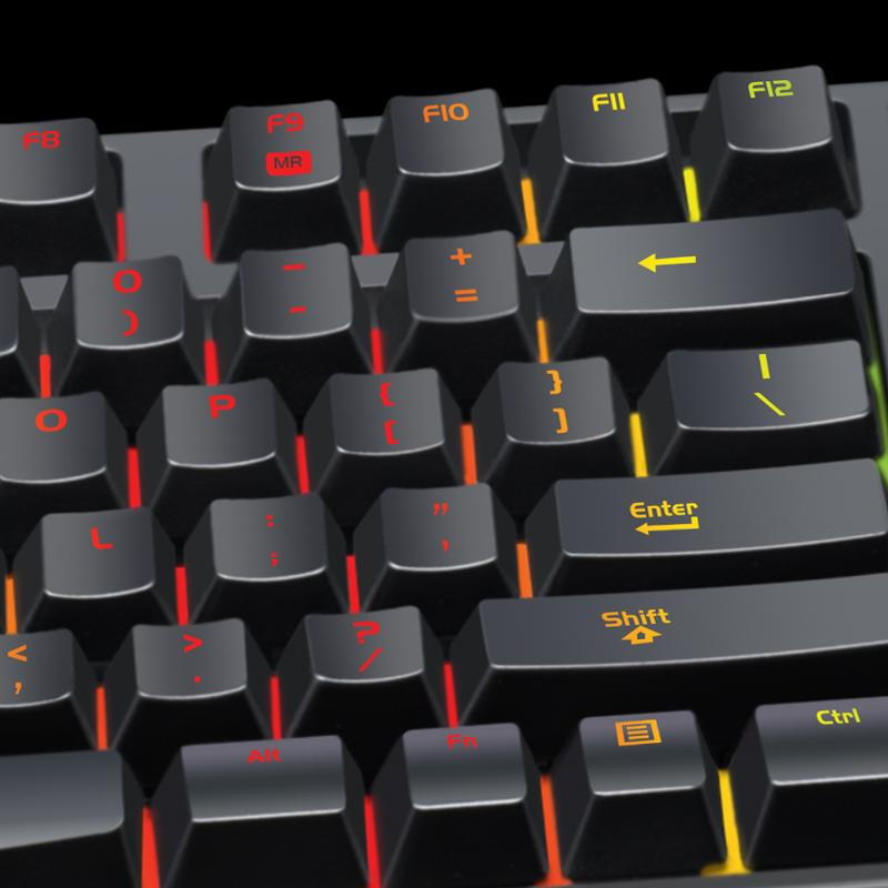 how to change colour on a ttesports keyboard