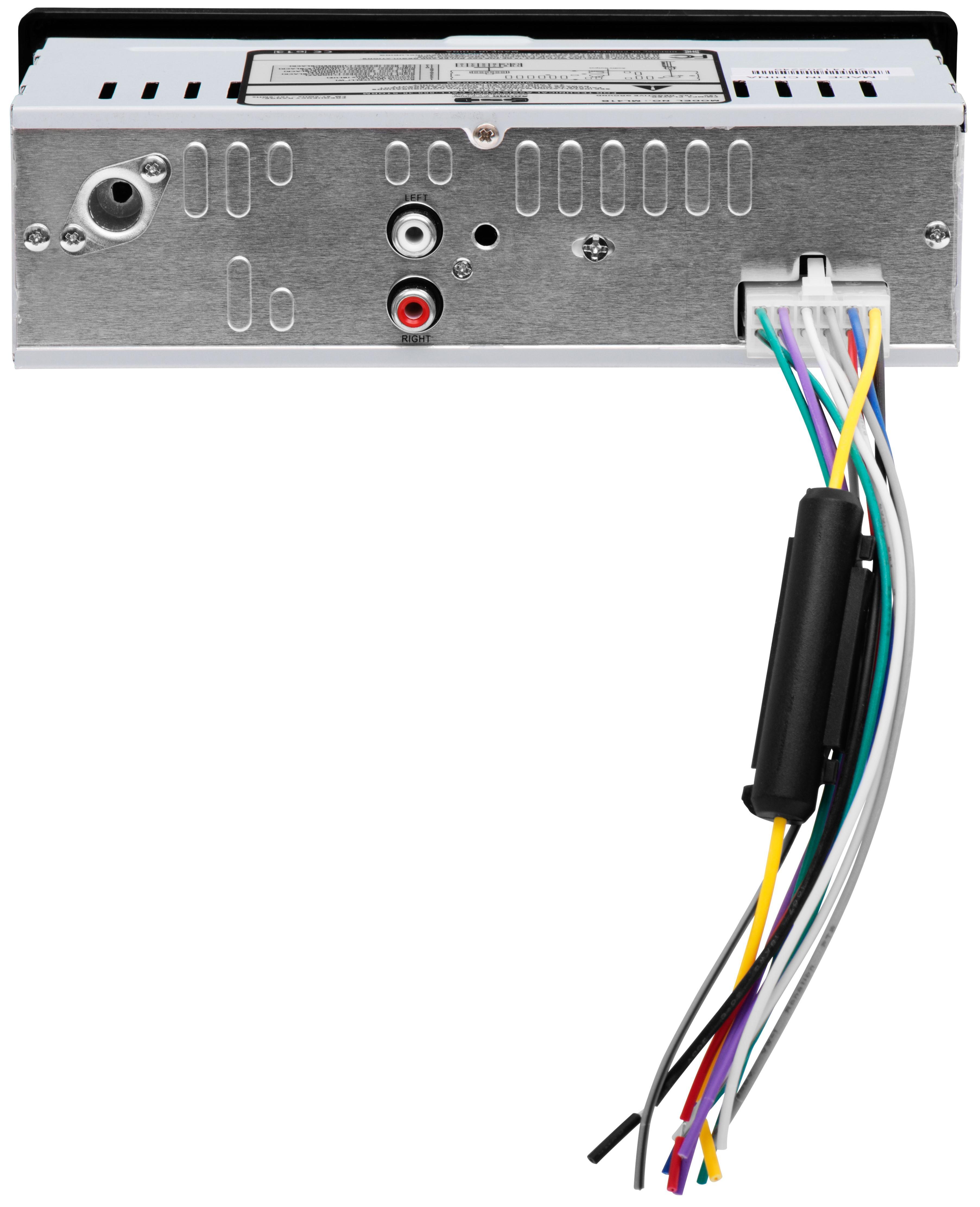 Sound Storm Lab Ml39usa In Dash Single Din Usb Sd Mp3 Player Car Audio Wiring Diagrams Boss 870dbi Ampliar