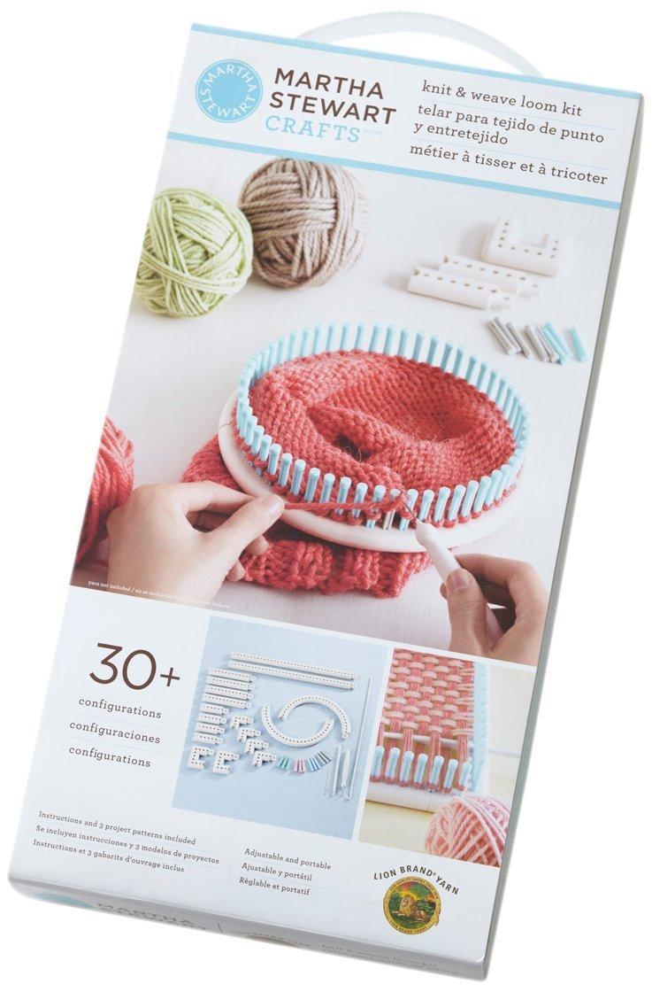 Lion Brand Yarn Martha Stewart Crafts 5000-100 Telar para Tejido de ...
